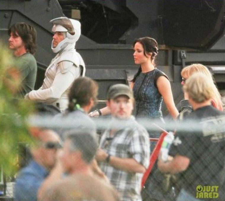 Hunger Games 2 : Les premières images de l'Embrasement
