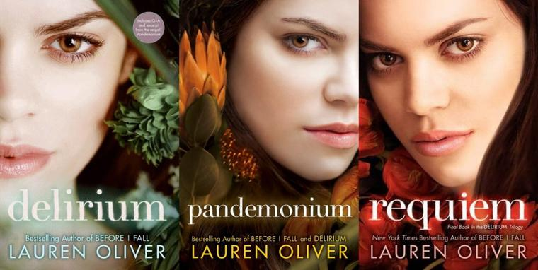 Couverture UK : Delirium Tome 3 - Requiem de Lauren Oliver