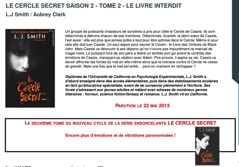 Black Moon : les parutions avril - juin 2013 !