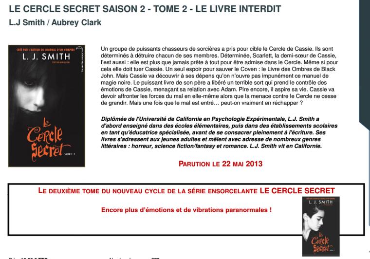 Black Moon : les parutions avril - juin 2013 !