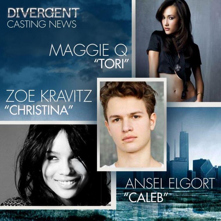 Divergent - Le film : Tori, Christina et Kaleb castés !