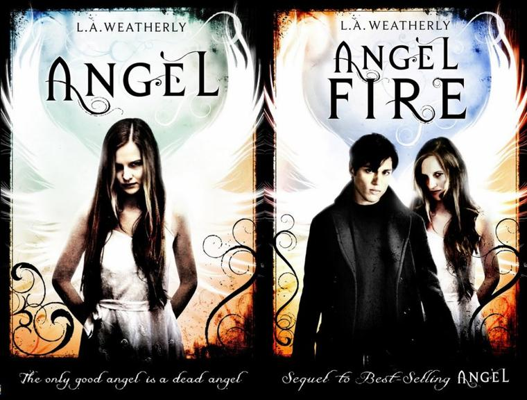 Couverture US : Angel Tome 3 - Angel Fever de L.A. Weatherly