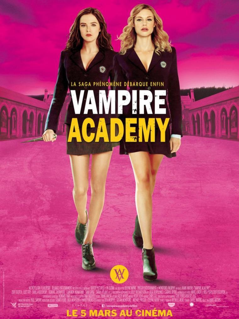 VAMPIRE ACADEMY - LE FILM : un extrait !