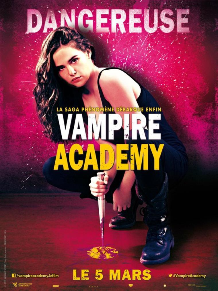 VAMPIRE ACADEMY - LE FILM : les affiches personnages
