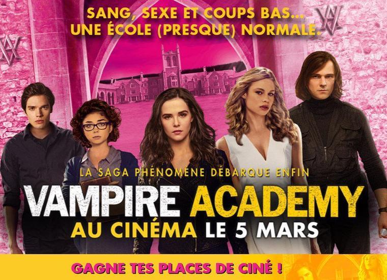 VAMPIRE ACADEMY - LE FILM : BLINDTEST POUR GAGNER DES PLACES DE CINÉMA !