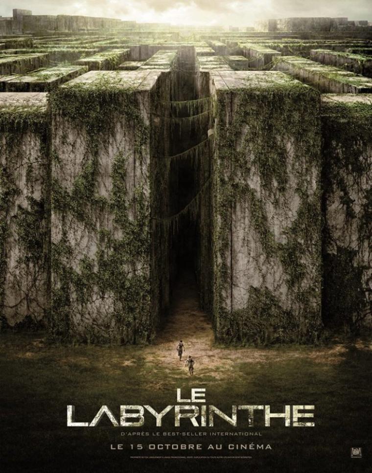 LE LABYRINTHE - LE FILM : l'affiche française !