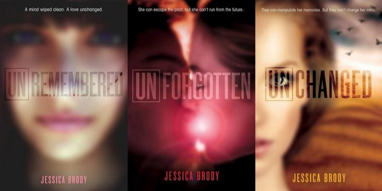 PRÉSENTATION : UNREMEMBERED T.1 - INACCESSIBLE de Jessica Brody