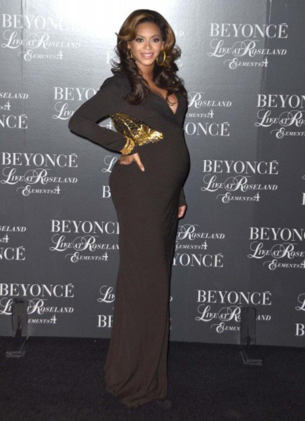 "La belle Beyoncé Knowles à la projection de son DVD ""live at Roseland"""