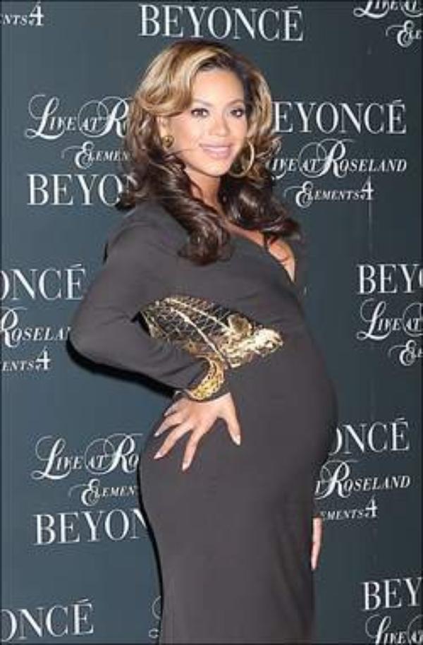 Beyoncé suit Jay-Z en concert malgré son gros ventre