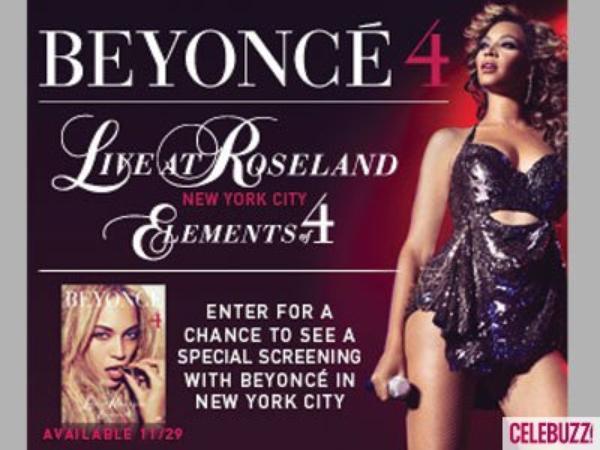 Beyoncé Knowles lance son nouveau DVD