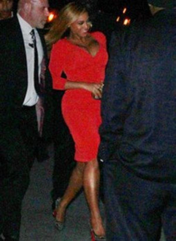 Beyoncé : de retour et en formes, soutient son mari qui fait vibrer New York