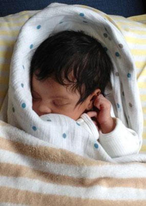 Beyonce et Blue Ivy, les premières photos du bébé