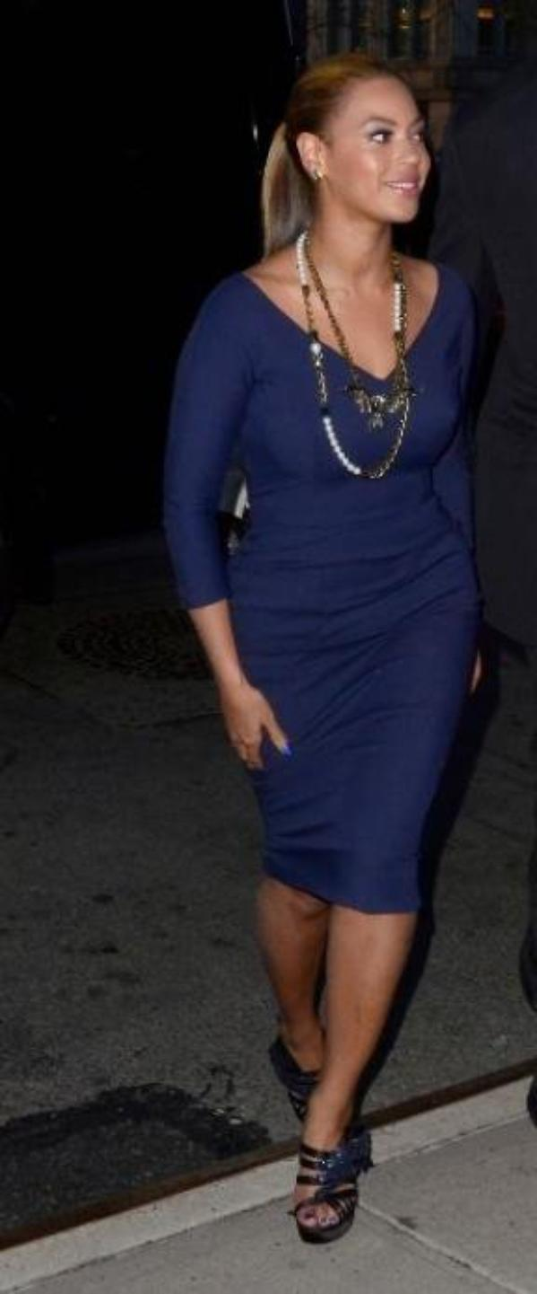 Look de Beyoncé : Le 19 mars à New York pour Michelle Obama