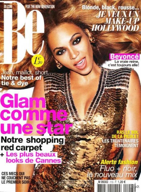 BEYONCÉ, GLITTER COVER GIRL