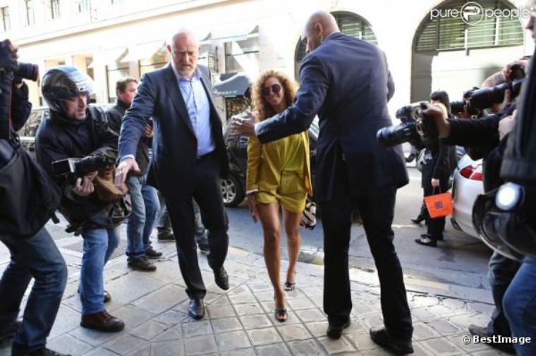 Jay-Z et Beyoncé : Déjeuner en amoureux à Paris, ça roule pour eux !