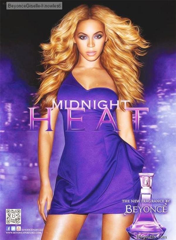 Beyonce Midnight  * La chaleur de minuit * Le nouveau parfum de Beyonce