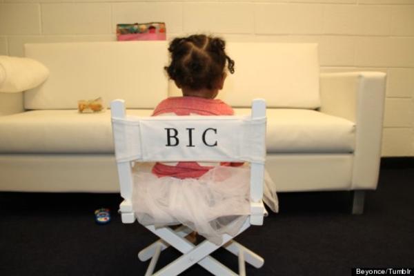 Beyoncé publie une nouvelle photo de Blue Ivy Carter