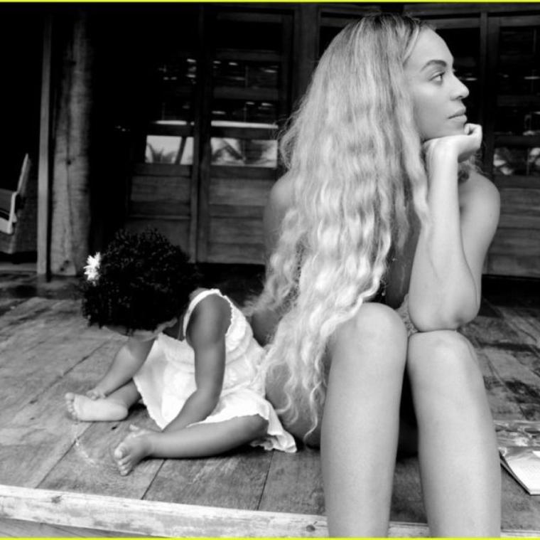 Beyonce en toute intimité , Blue Ivy : Déjà deux ans de bonheur pour Beyoncé et Jay-Z