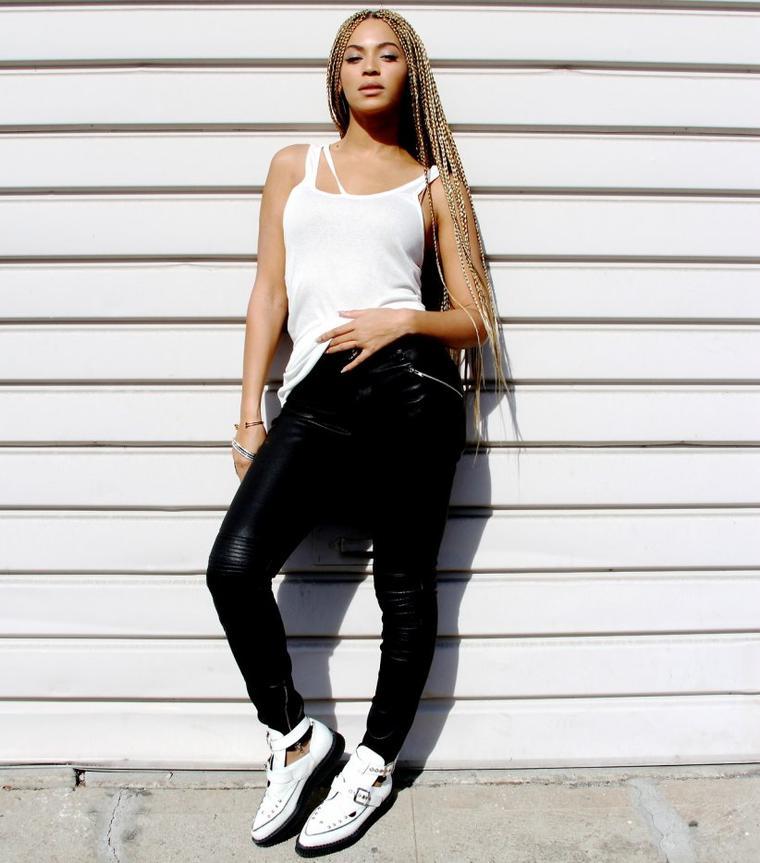 BEYONCÉ  SA NOUVELLE COIFFURE ETHNIQUE, Beyoncé bébé sur Tumblr, l'adorable sosie de Blue Ivy