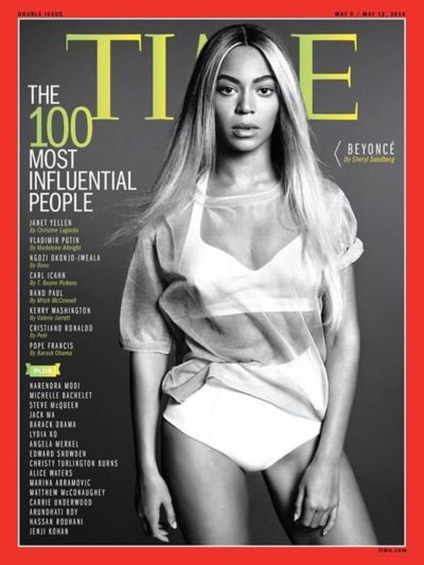 Beyoncé parmi les 100 personnalités les plus influentes du monde