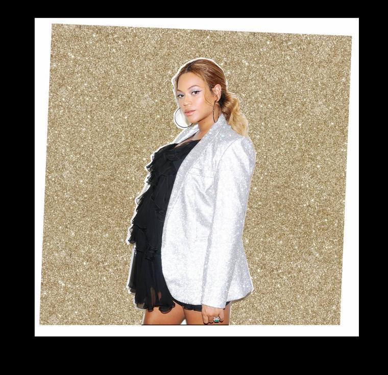 Beyoncé enceinte et prête à accoucher