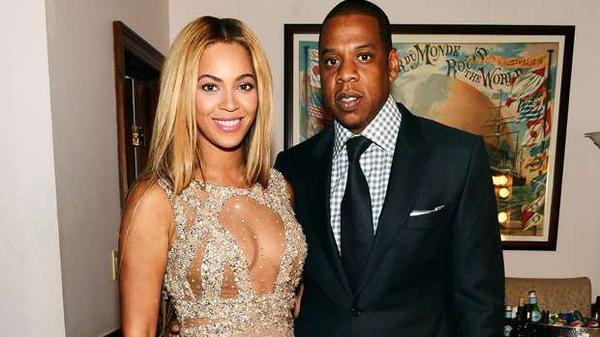 Beyonce  et Jay -z  en concert a Paris