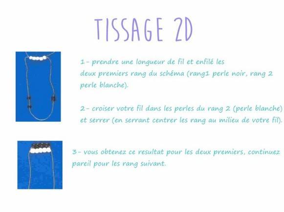 Technique : tissage 2d et tissage 3d