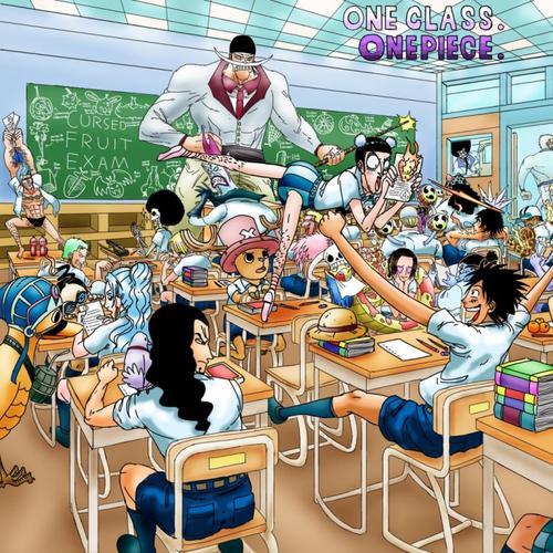 Et si One Piece était un Lycée ? Présentation/Prévenus