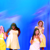 GLEE # Halo / Walking On Sunshine