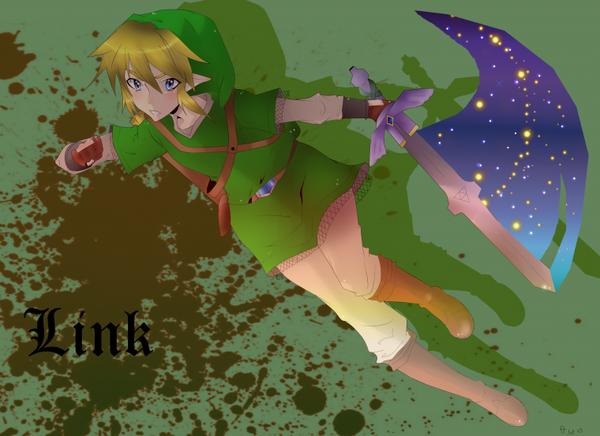 Le voici!! Enfin!! Le fanArt de Link!