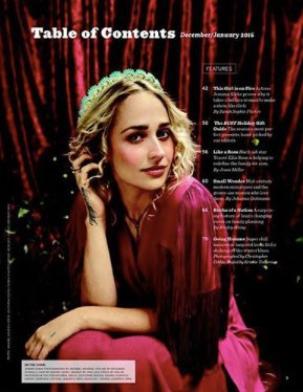Jemima fera en décembre la couverture du magazine Bust dont voici quelques photos ... Le shooting est vraiment sublime j'ai hâte de découvrir se que racontera l'article qui lui sera consacré !