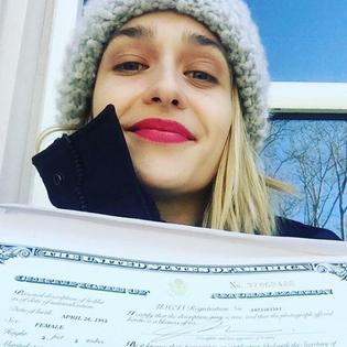 Jemima en janvier sur les réseaux sociaux