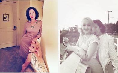 Voici en vrac les photos de Jem sur le plateau d'UNtogether avec sa soeur Lola et Jamie Dornan entre autres ... Perso ça me donne bien envie de voir le résultat finale