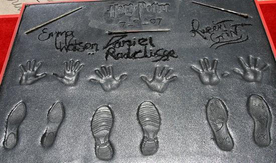 Harry Potter and the Order of the Phoenix-Hand Footprint Honored and Wand CeremonyEmma