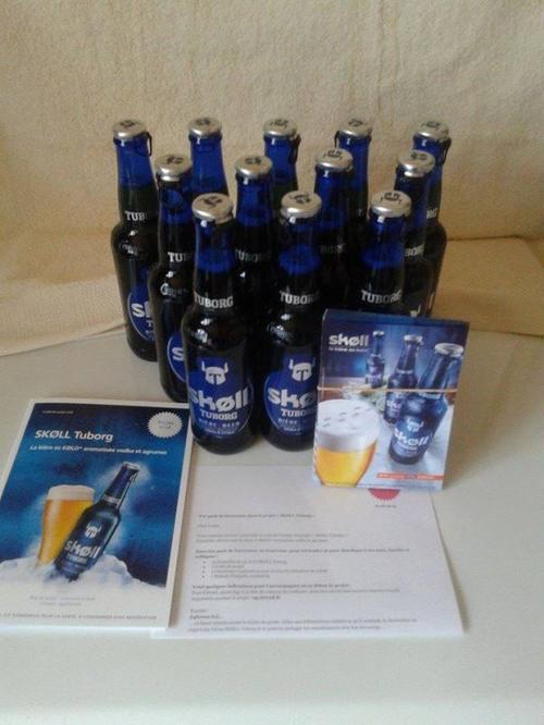 Test Bière Skoll Tuborg