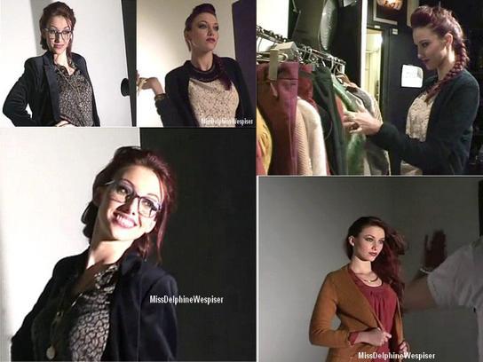 Shooting de Miss France pour Public