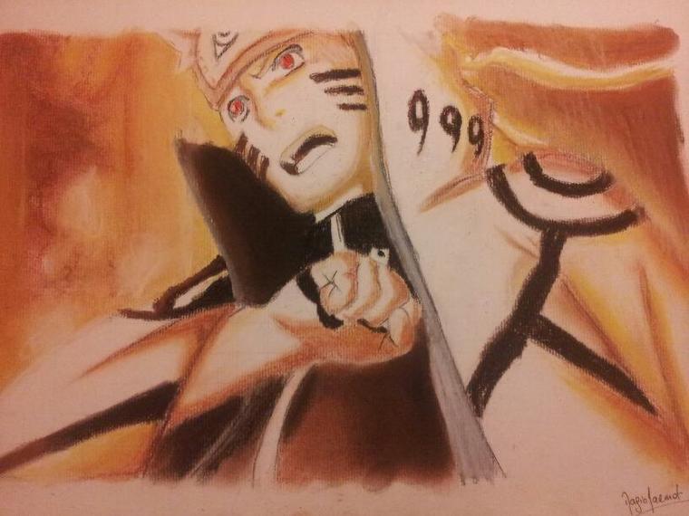 Naruto - chakra de kyubi