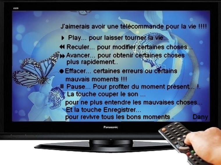 LA TELECOMMANDE QUE L ON VOUDRAIT TOUS ET TOUTES !!!!!