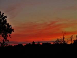 Les couchers de soleil comme je les adorent , photos perso !!!