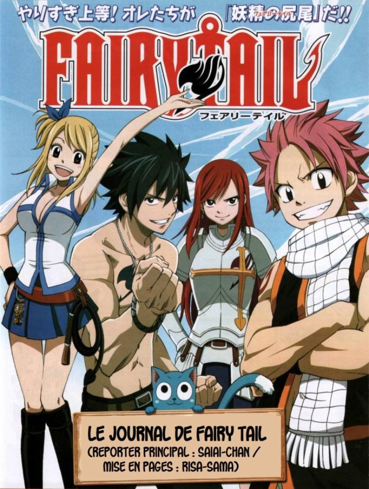 Le Journal de Fairy Tail (édition n°1 - Emission du Vendredi 01 Juin 2012) - By Risa