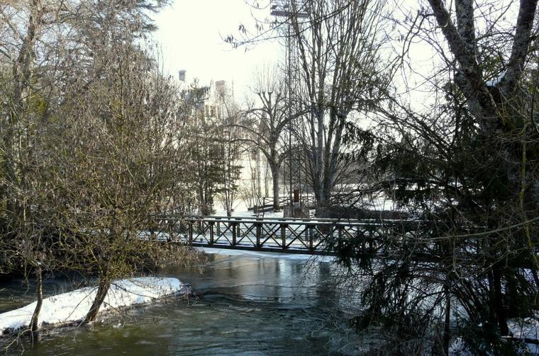L'indre à Azay Le Rideau