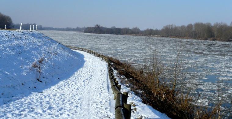 La Loire en hiver