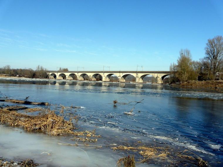 De La Loire au Cher en hiver
