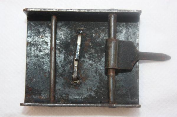 03. Boucle de ceinturon troupe RPR 1948/52- Belt buckle armed forces RPR 1948/52