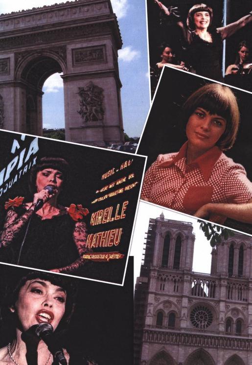Vorfreude auf Paris  3   MIREILLE MATHIEU -* SOUS LE CIEL DE PARIS -* MON PARIS JDR