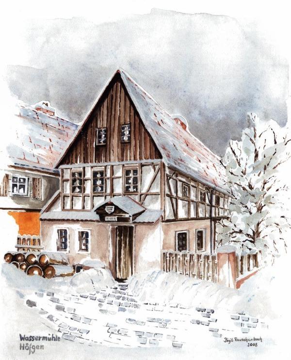 Wassermühle Grimma   / Spruch der Woche