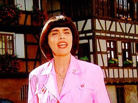Mireille Mathieu im MDR Fernsehen