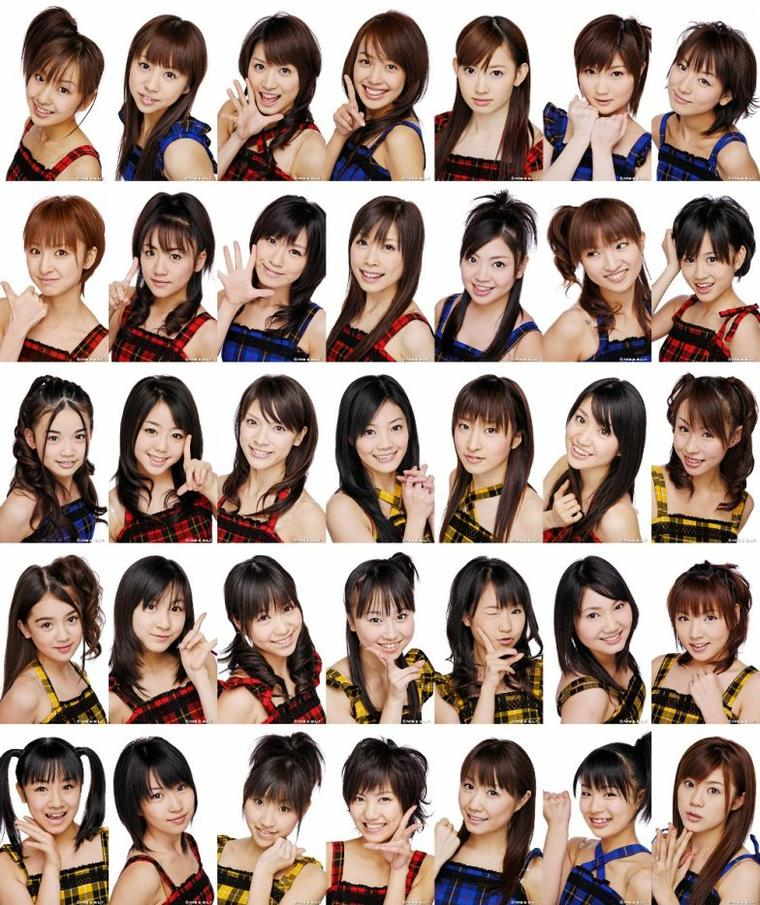 Idoles (Johnny's, AKB48 & Hello Project)