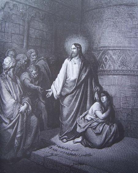 """""""Que celui d'entre vous qui est sans péché lui jette le premier une pierre !"""""""