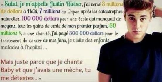 Poor Justin !
